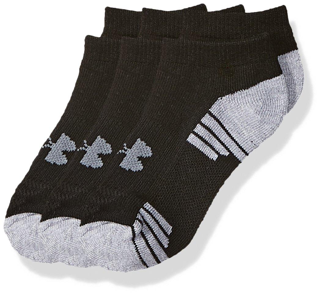 Under Armour Boys HeatGear Tech No Show Socks