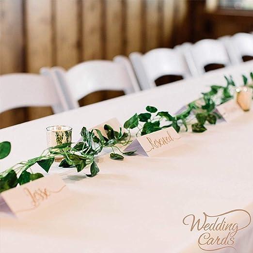 10 tarjetas de mesa de boda nombre lugar personalizado decoración ...