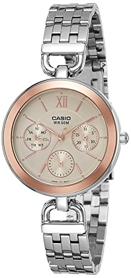 c173450d947 Image Unavailable. Image not available for. Colour  Casio Enticer Ladies  Analog Rose Gold Dial Women s Watch ...