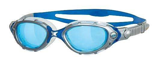 2 opinioni per Zoggs Predator Flex Occhialini da Nuoto, Blu/P. White