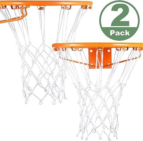Syhood 2 Paquets Remplacement de Filet de Basketball Filet