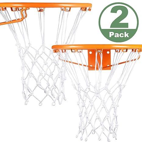 Syhood 2 Paquetes de Red de Baloncesto de Repuesto para Casi ...