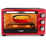 Luby 6-Slice Convection Toaster Oven with Timer