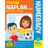 NAPLAN*-style Year 7 Numeracy Workbook and Tests (new cover)