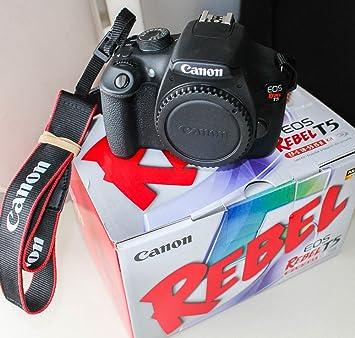 Canon Eos Rebel T5 Dslr Camera Body Only Kit Box No Lens
