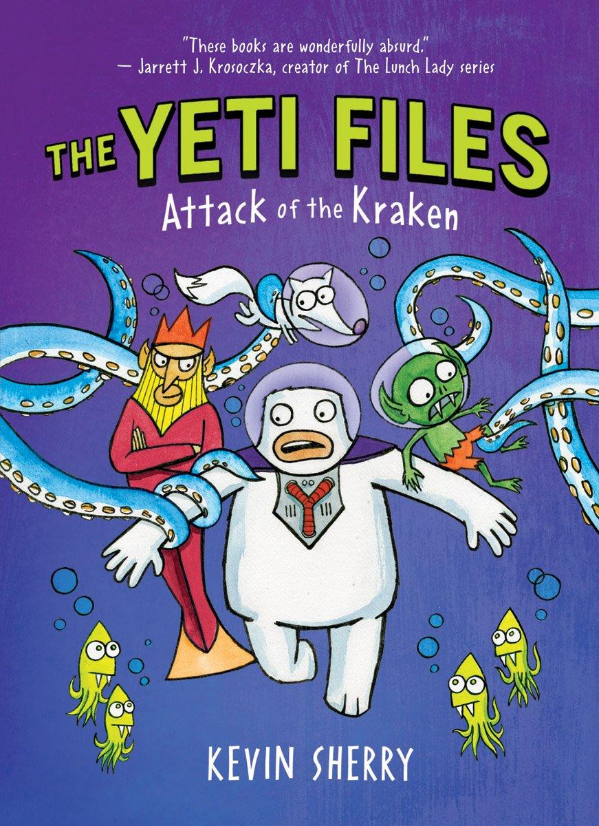 Attack Kraken Files Kevin Sherry product image