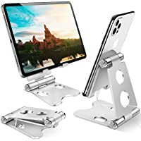 Bamoer Phone Stand, Tablet Stand, Adjustable Phone Dock- Universal Stand,Holder Compatible with iPhone 12 Mini, 12 Pro…