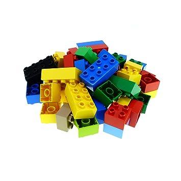 blau 50 Stück Baukästen & Konstruktion LEGO Bausteine & Bauzubehör Lego Basic Basissteine 2x2