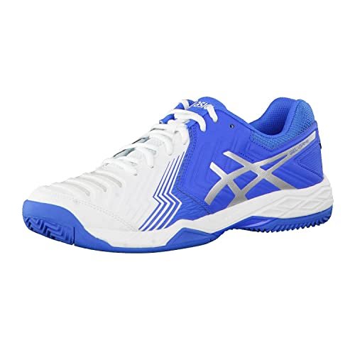 Asics Gel di Game 6 Clay Scarpe da tennis Uomo weiss / blau 902 EU