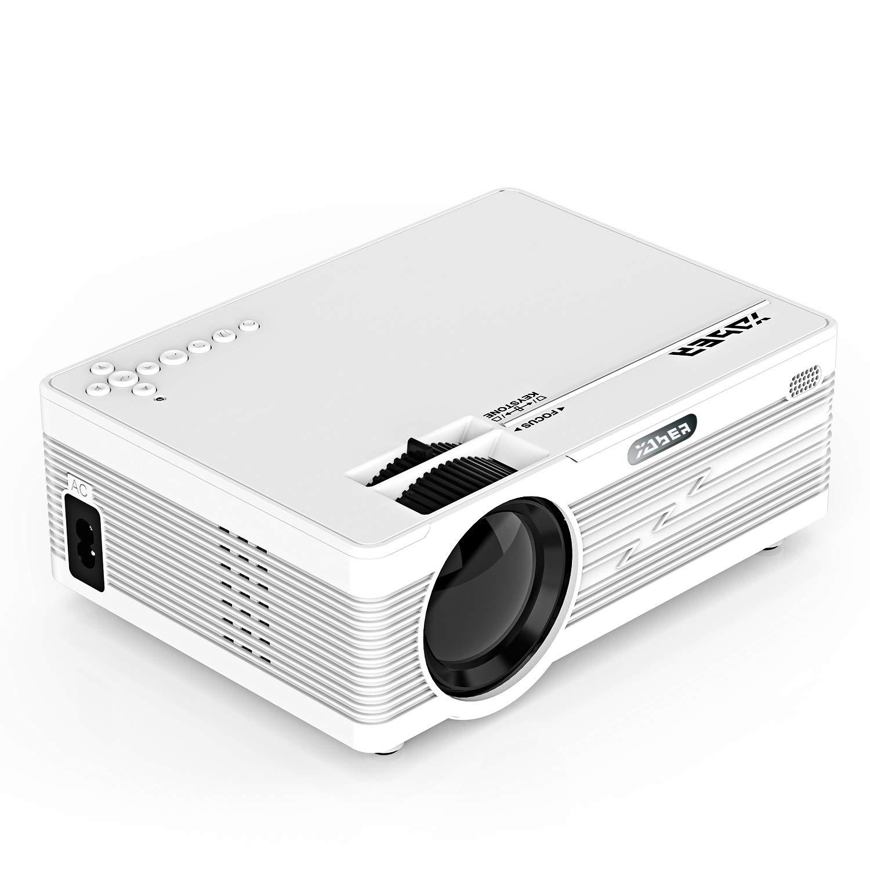 Yaber - Proyector de vídeo (1080P/VGA/HDMI/USB/SD/AV, 55.000 Horas ...