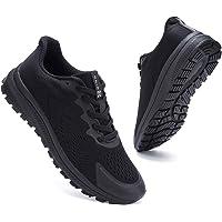 Kyopp Womens Trainers Slip-on Lichtgewicht Wandelschoenen Ademend Atletische Sportschoenen Loopschoenen voor Vrouwen