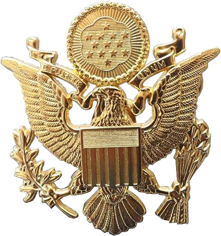 ARMY OFFICERS HAT PIN