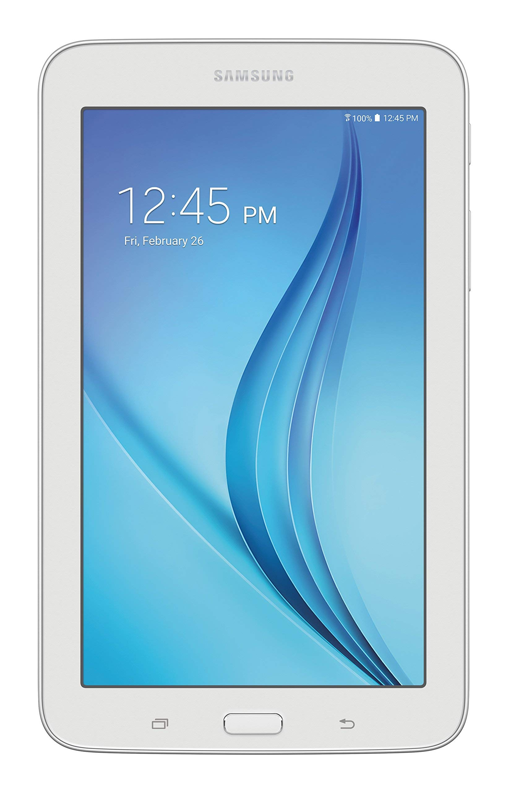 Samsung Galaxy Tab E Lite 7''; 8 GB Wifi Tablet (White) SM-T113NDWAXAR (Certified Refurbished)