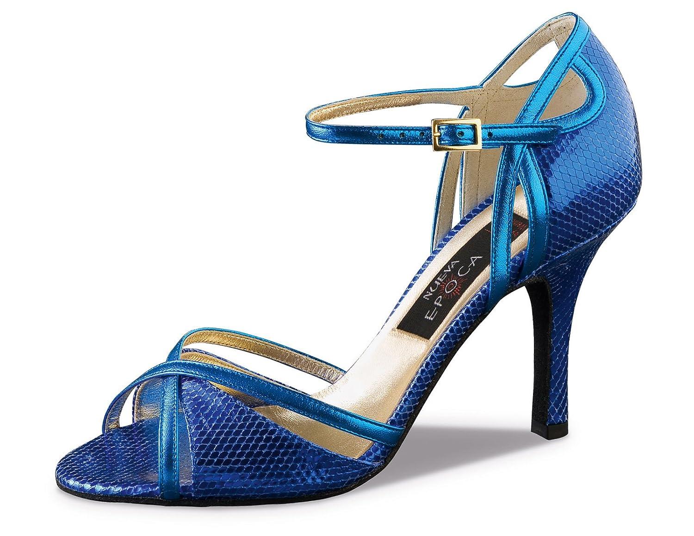 Werner Kern Nueva Epoca Womens Angeles 8.0 Texture Leather 8 Blue