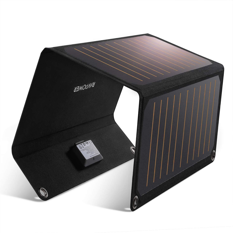 Cargador Solar Portatil De 21 Watts De Salida Ravpower