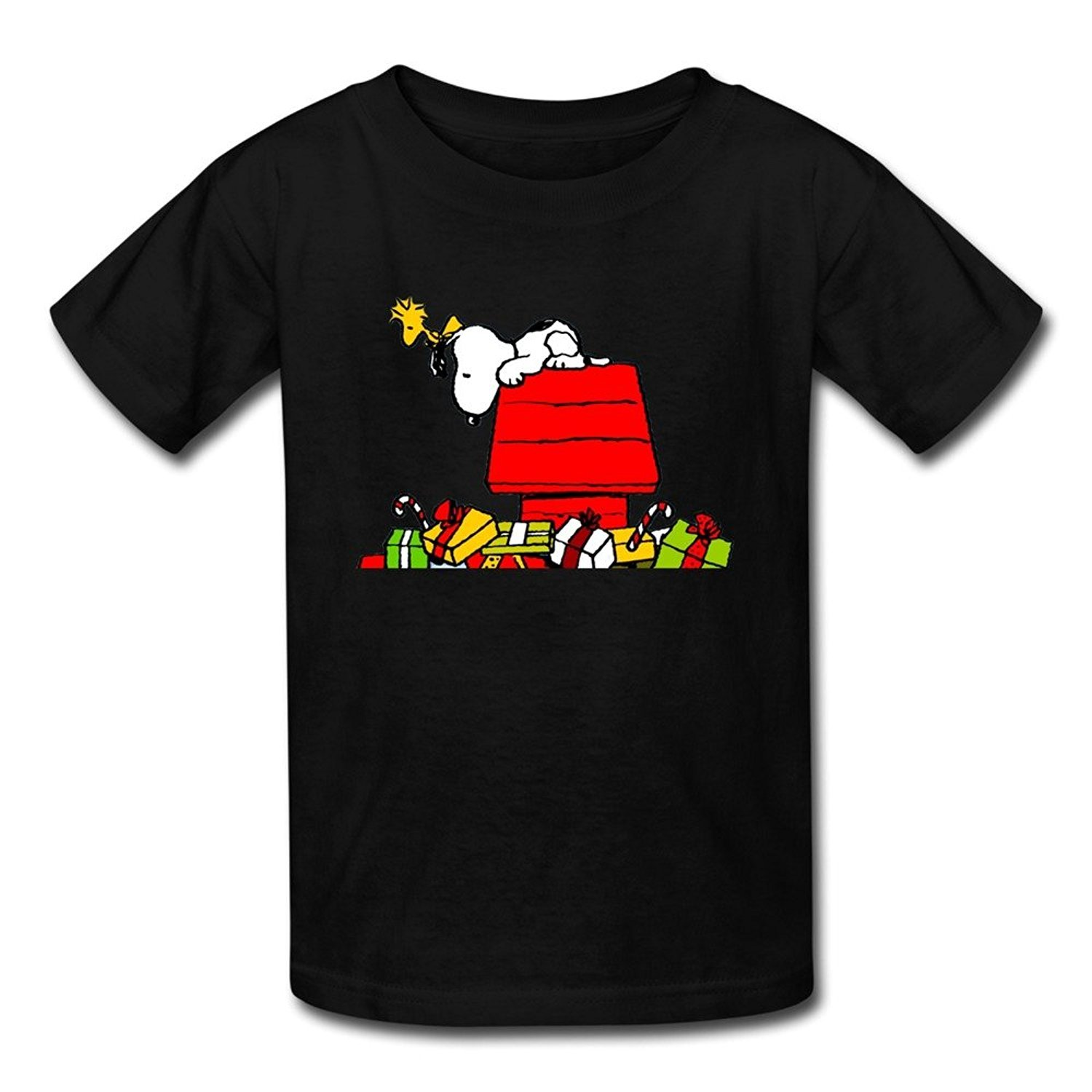 Youth Cool Unique Christmas Snoopy T-Shirt