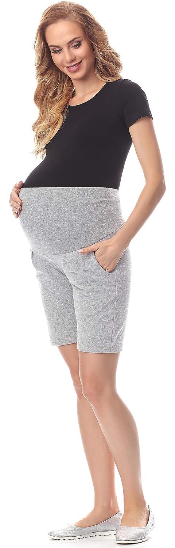 Be Mammy Premamá Leggins Pantalones Cortos Shorts Maternidad Ropa Verano Mujer BE20-234