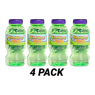 Gazillion Bubbles Solution 8 oz. 4 Pack: Toys & Games