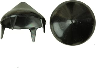 product image for 1006 Cone Spike Nailhead, Size 40, Solid Brass, Black Nickel Finish, 150 Pieces per Pack