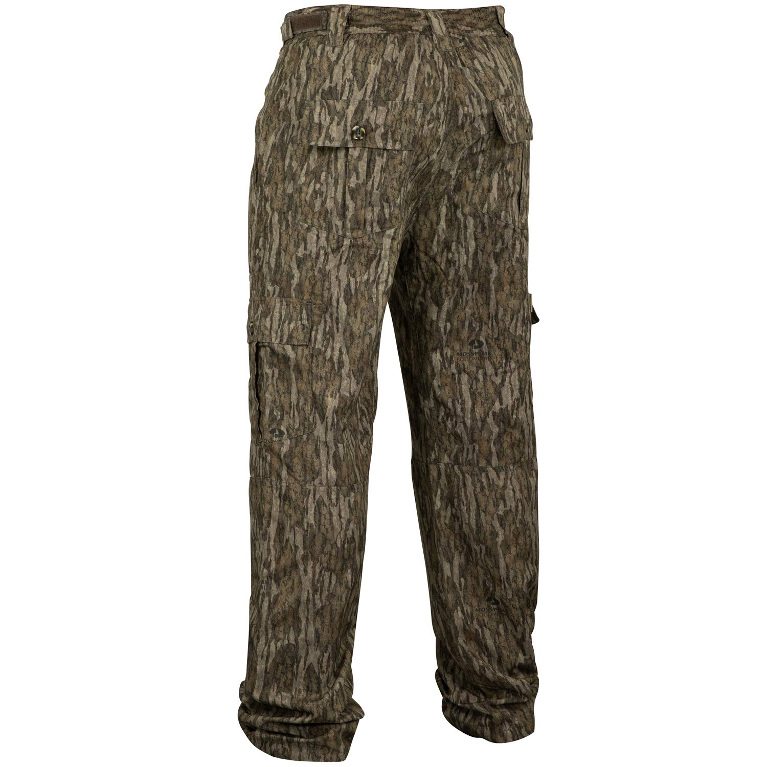 Mossy Oak Men's Tibbee Technical Lightweight Camo Hunting Pants, Bottomland, 3X-Large by Mossy Oak (Image #2)