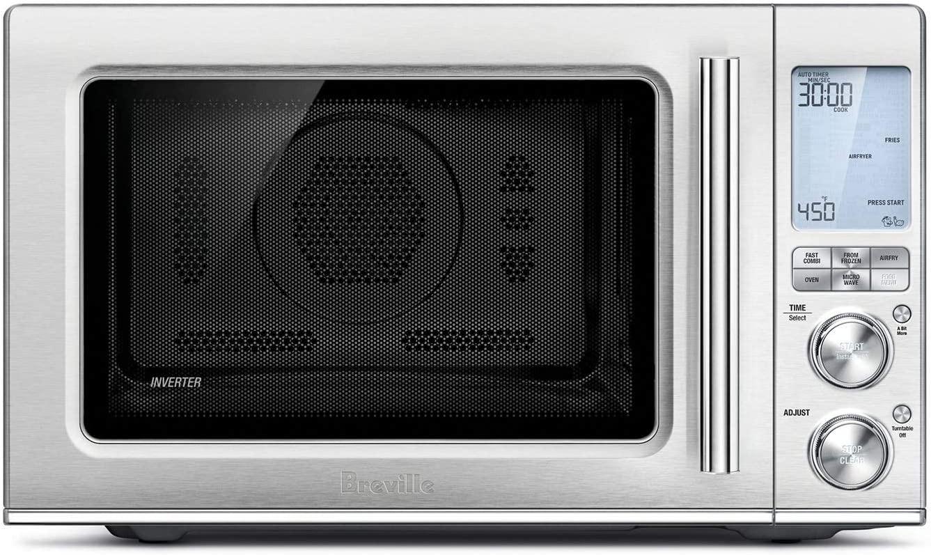Breville BMO870BSS Combi Wave 3-in-1 Convection Oven,