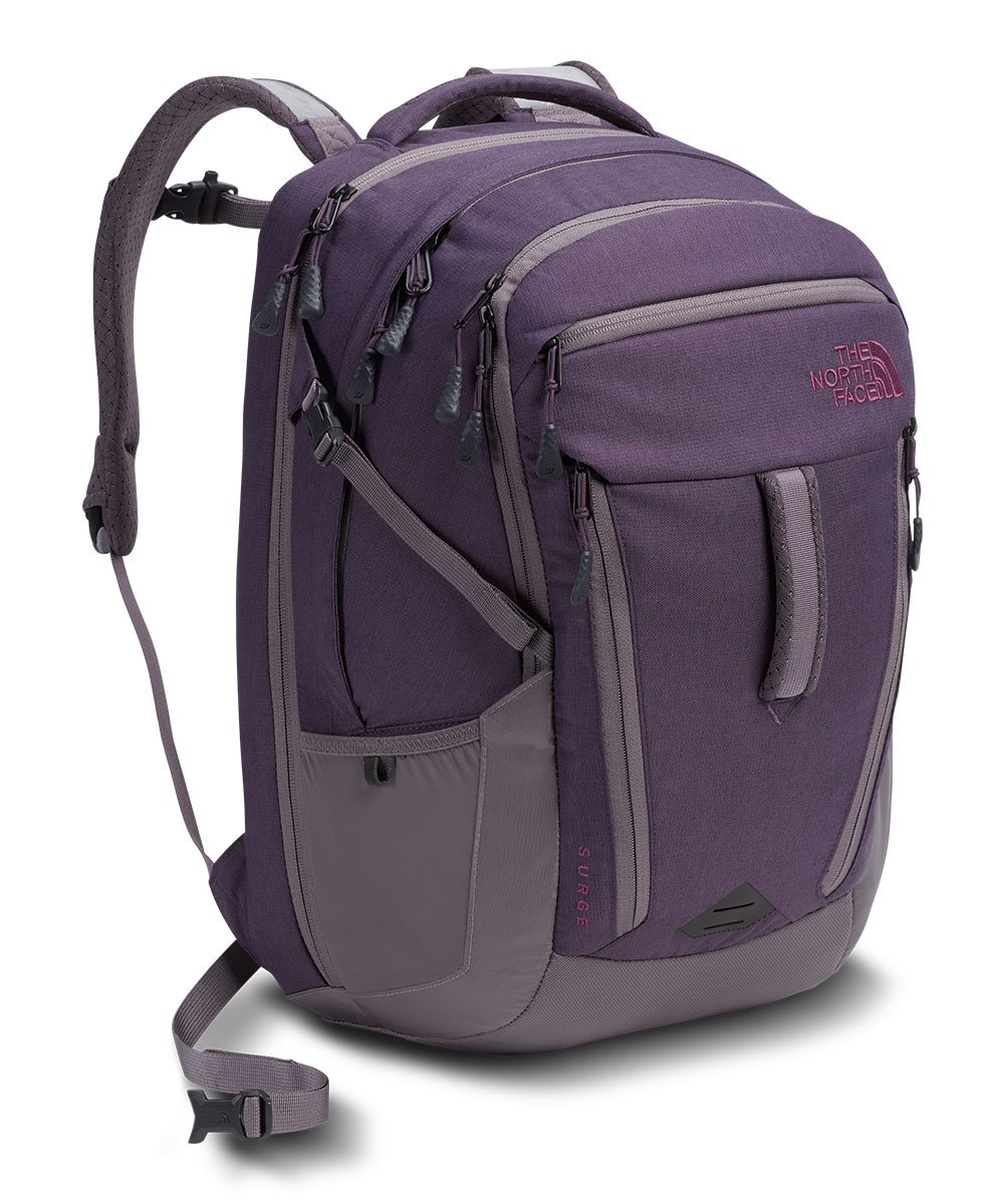 The North Face Women's Surge Laptop Backpack - 15'' (Dark Eggplant)