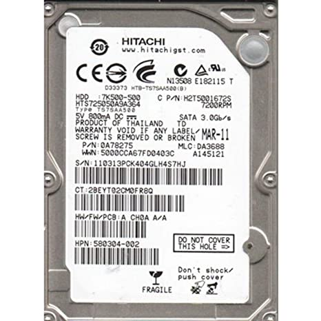HITACHI HDD 7K500 320 WINDOWS 8.1 DRIVER DOWNLOAD