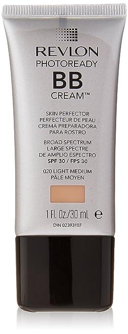 Revlon Photoready BB Cream Skin Perfector, Light Medium, 1.0 Fl Oz