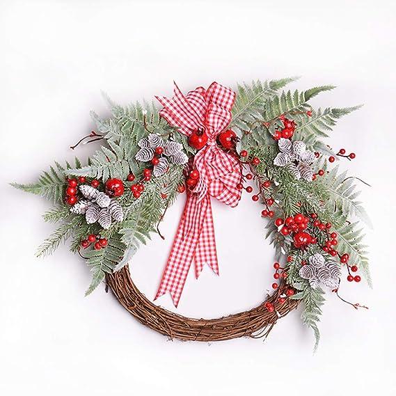 GL-Turelifes 24 Pcs White Artificial Pine Cone Ball Plant Pine Flower Bouquets 4 Bundles Pinecone Stem Christmas Ornaments Wreath Craft DIY Photo Props