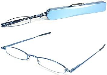46ac1d3b8de Amazon.com  I-Mag Mini Metal Spring Hinge Reading Glasses with Slide ...
