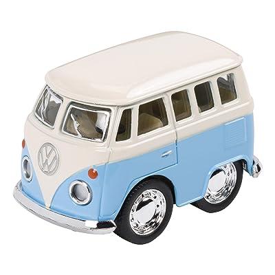 Toysmith Mini VW Bus Toy Car,, Multicolor: Toys & Games
