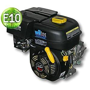 WilTec LIFAN 168 Motor de Gasolina 4,8kW (6,5PS) con Embrague en baño de Aceite Kartmotor