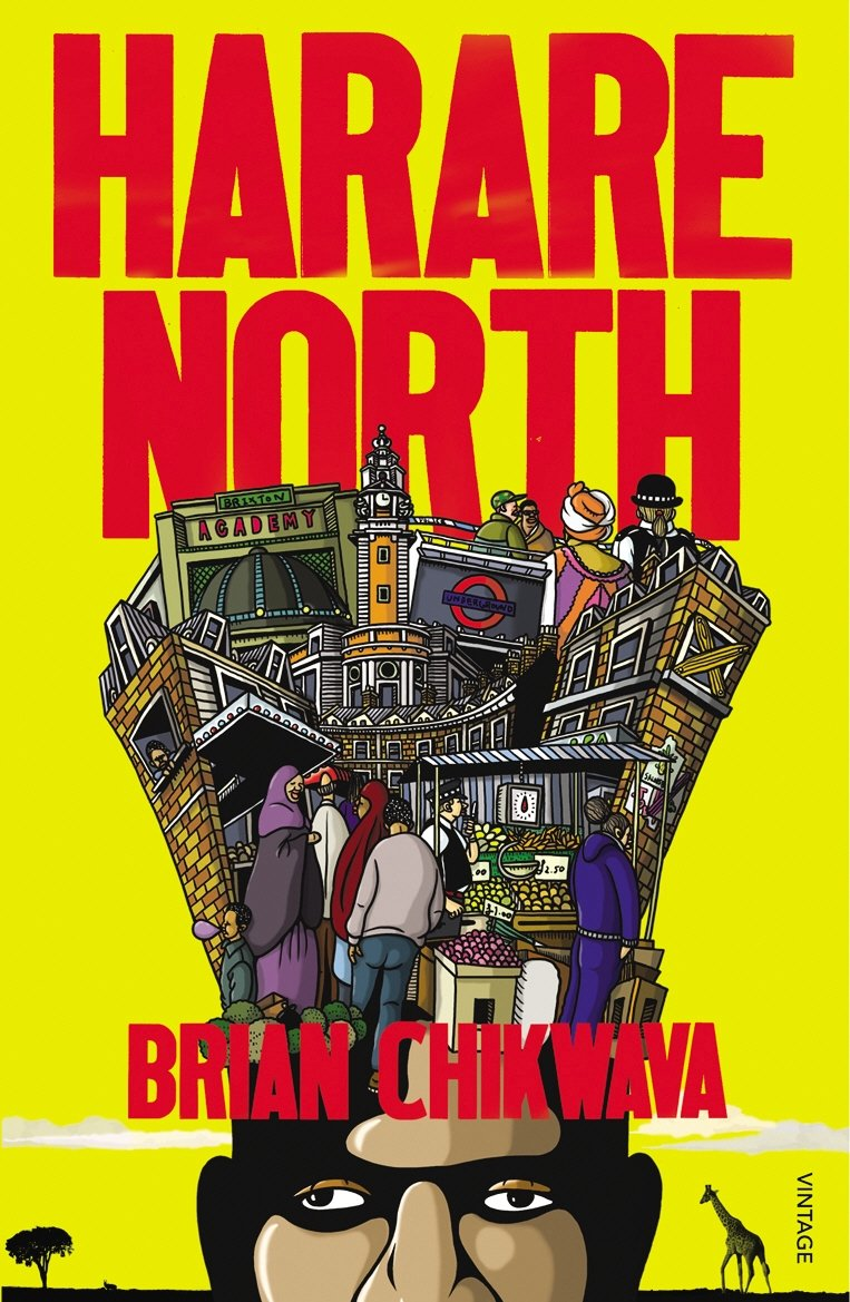 Brian Chikwava - Harare North cover of US edition