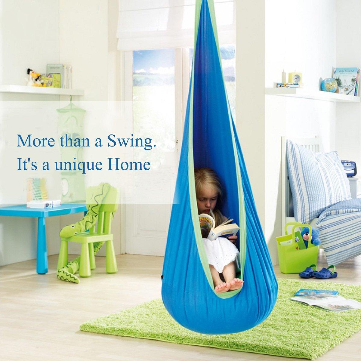 OUTREE Kids Pod Swing Seat Hammock