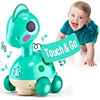 CubicFun Baby Toys 6 to 12 Months Touch & Go Music Light Baby Crawling Toys, Baby Toys 12-18 Months Gifts Toys for 1…