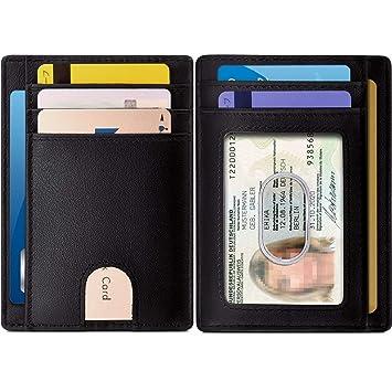 RFID Kartenetui Kreditkartenetui Damen Geldbörsen Portemonnaie Visitenkartene