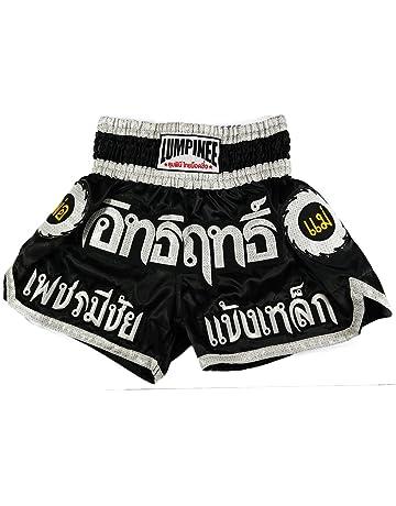 Lumpinee Muay Thai Kick Boxing Pantalones Cortos: LUM-002