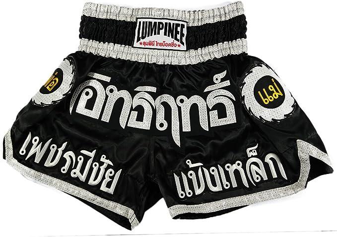 Lumpinee Muay Thai Kick Boxing Pantalones Cortos