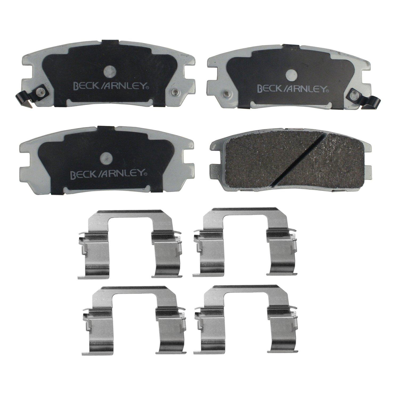 BECKARNLEY 085-6473 Premium ASM Break Pad with Hardware