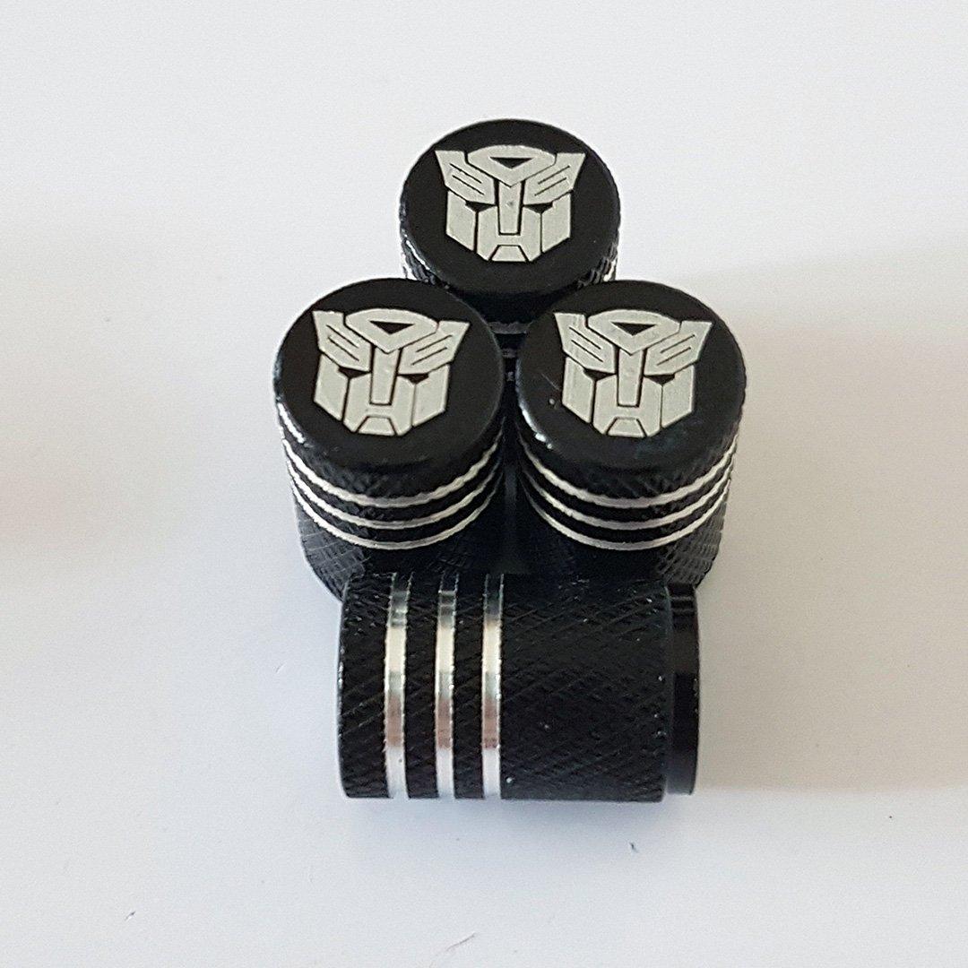 Speed Demons FIAT ABARTH Grey Laser Engraved Dust Valve Caps for all models