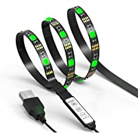 JACKYLED TV LED Light Strip JACKYLED 3.3ft 30Leds LED TV Backlight Strip USB Bias Monitor Lighting