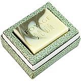 FOYAGE 梵颜 法国绿石泥手工皂(矿物润肤)French Green Clay Soap 80g 天然冷制洁面美容皂 (深层清洁 滋养补水 去角质/卸妆)