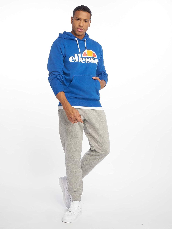 Blue Ellesse Mens Gottero Pullover Hoodie
