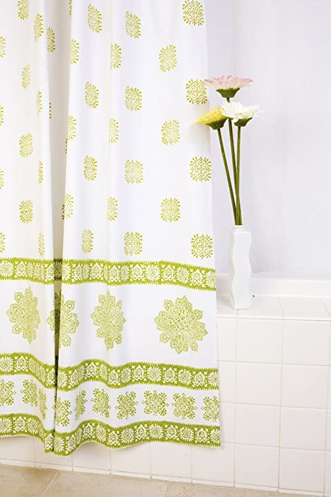 Attiser Shower Curtain Sage Midori