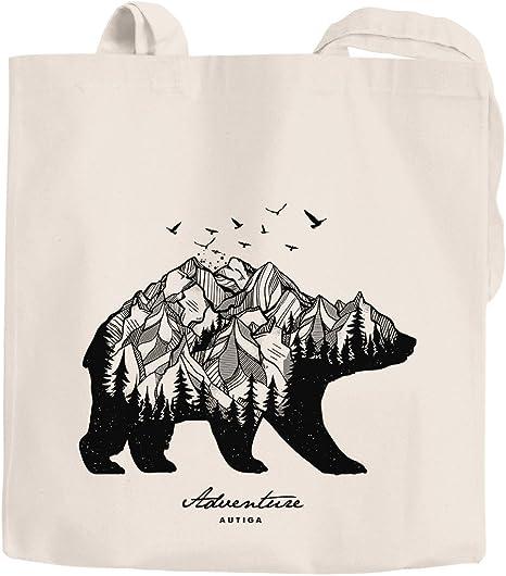 ORSO Polare immagine riutilizzabile Shopping Bag 38 x 42cm Wild Arctic