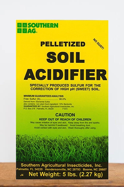 Southern Ag Pelletized Soil Acidifier - 5LB