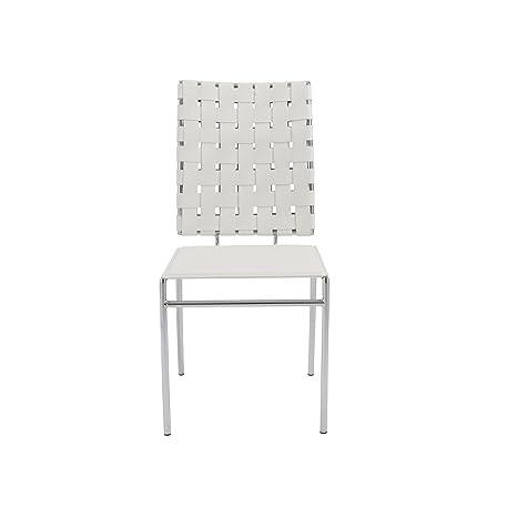 Amazon.com: italmodern Carina Side Chair: Kitchen & Dining