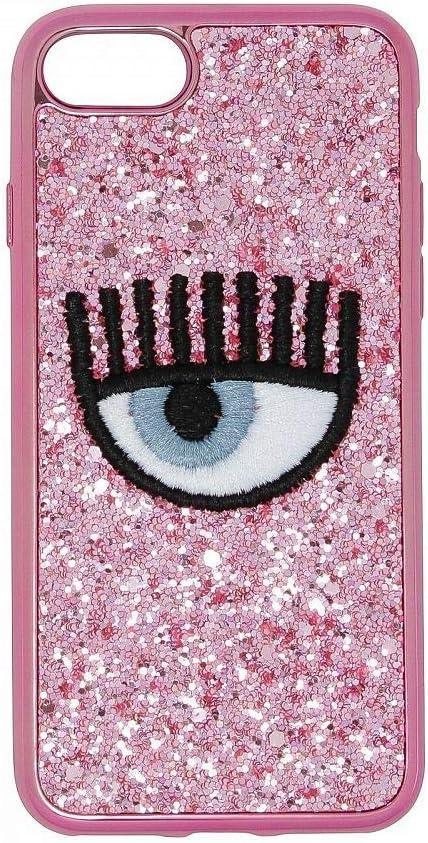 Chiara Ferragni Cover iPhone 7/8 Eye Glitter Rosa