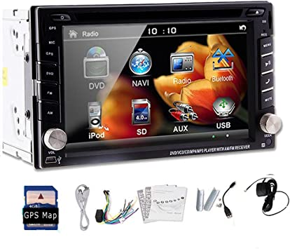 BT vendedora caliente del Est¨¢ndar 6.2 FM / AM Car PC GPS 2Din DVD