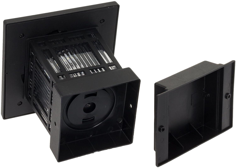 Westinghouse  Solar 20 Lumens 4x4 Post Light for Wood Posts Black, 8 Pack
